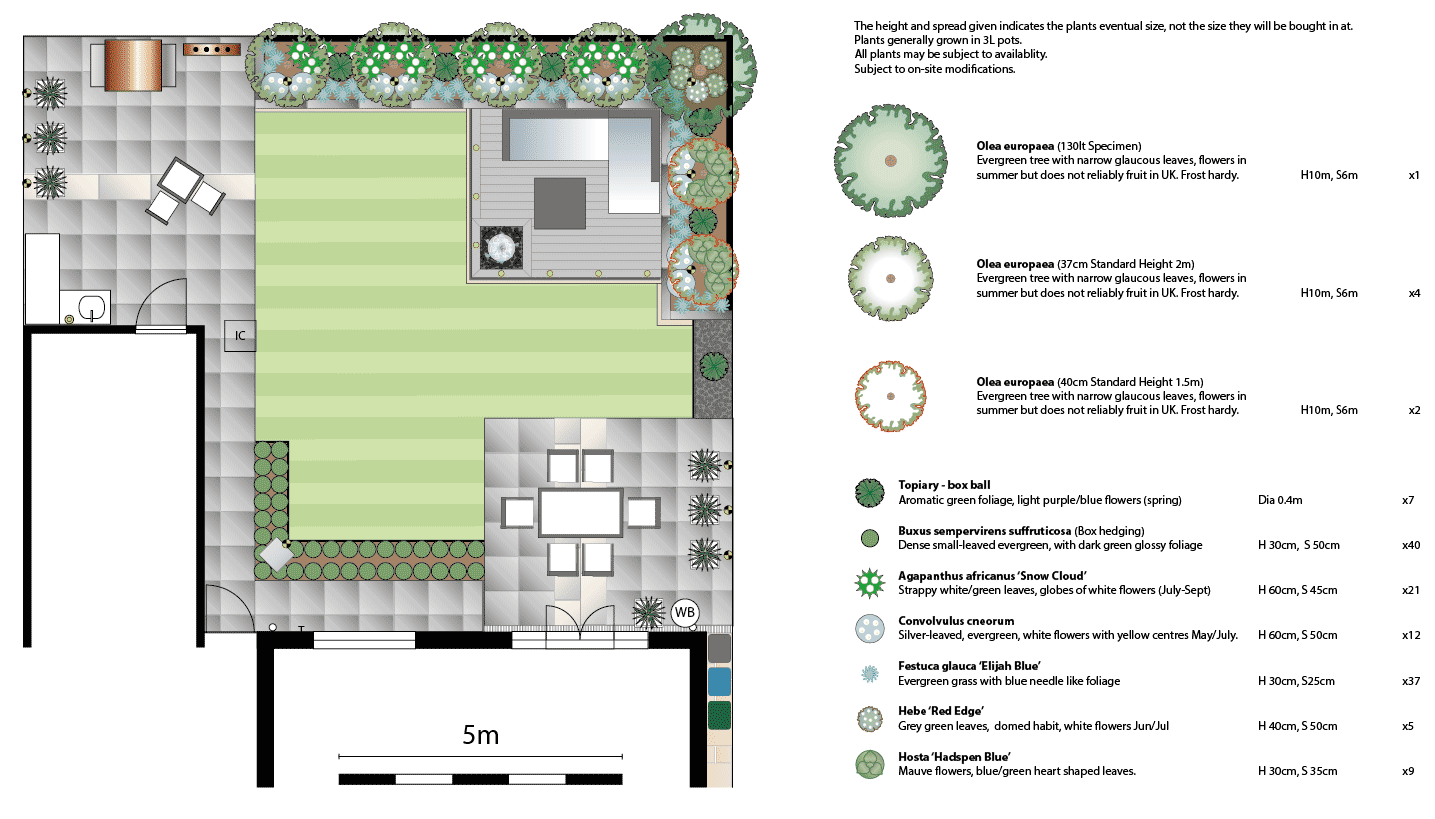 Garden Layout and Planting Plan